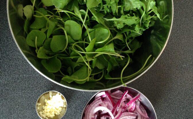 Ingrédients e la soupe anti-rhume