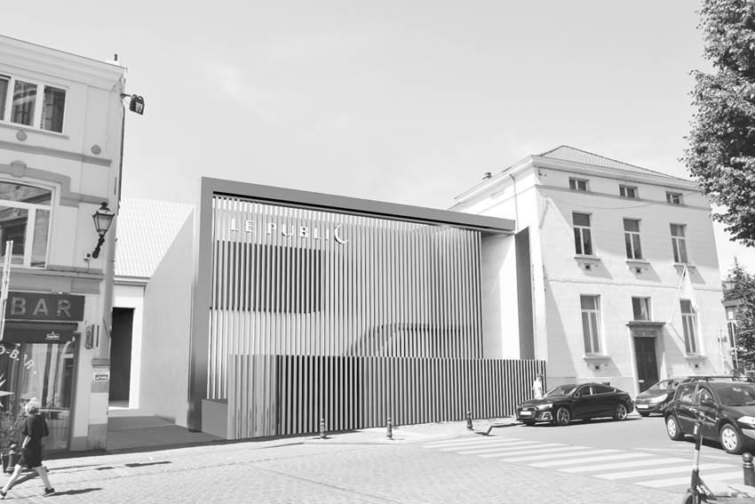 Le nouveau théâtre Le Public au Parvis Saint-Pierre